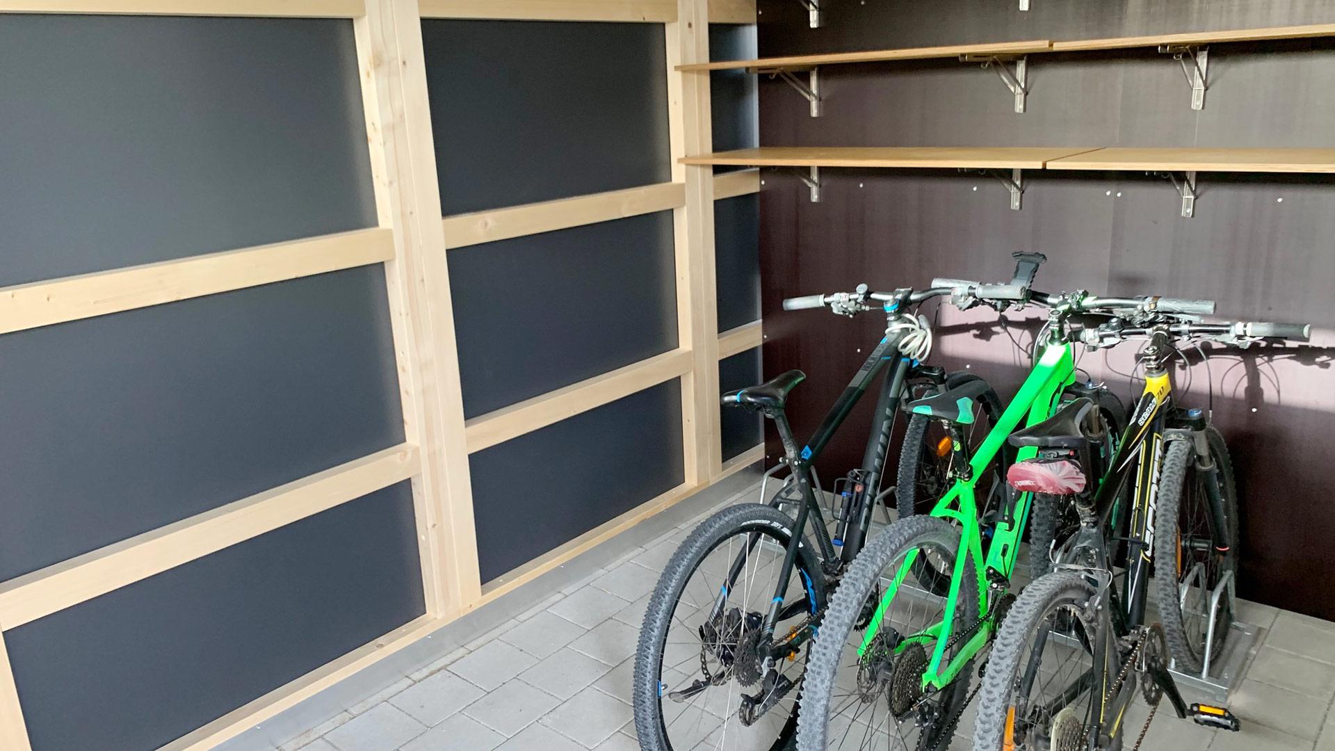 Design Fahrradhaus - Gerätehaus